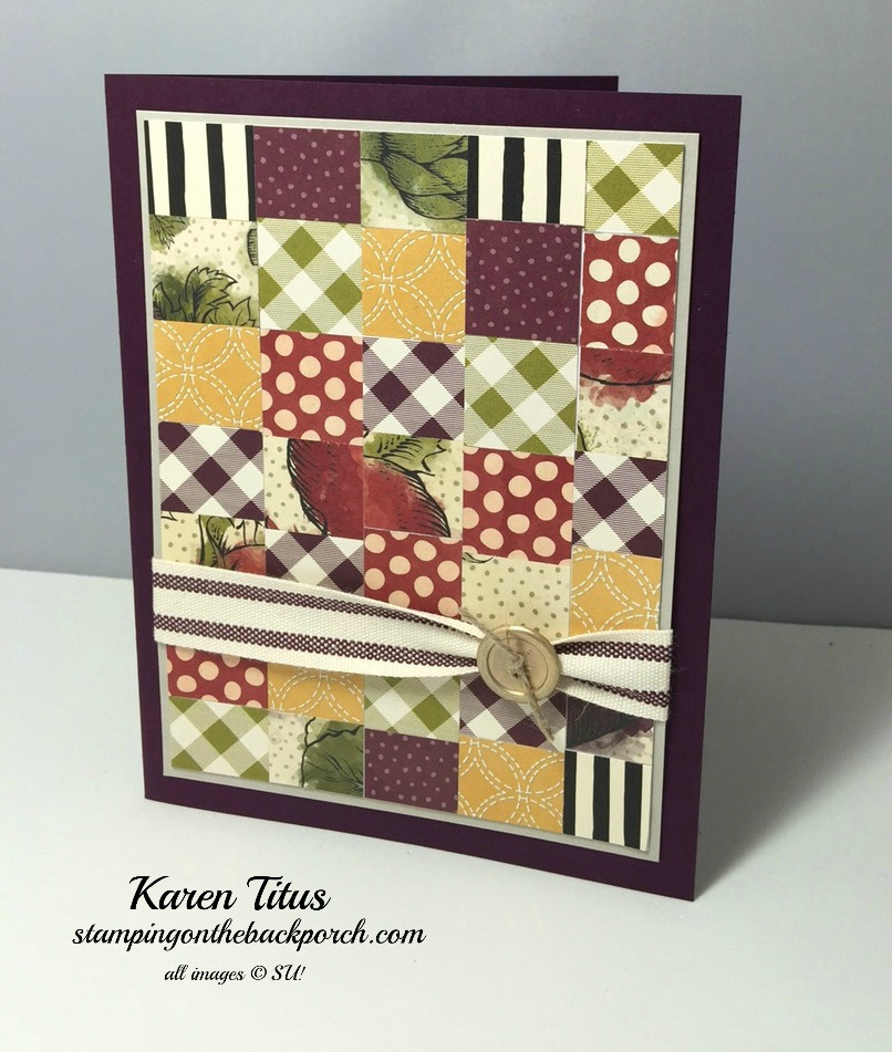easy paper piecing cards