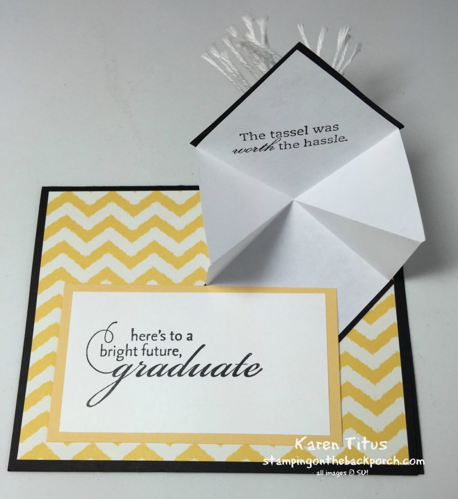 fun fold graduation card