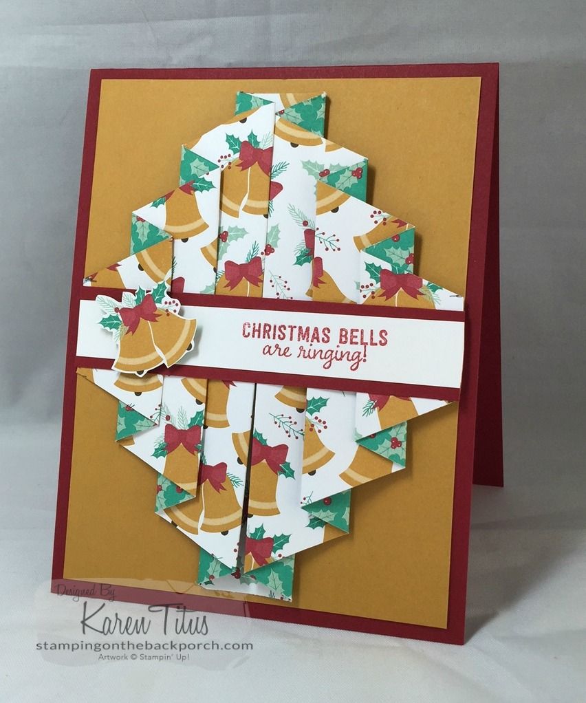 How To Make Double Pleated Cards