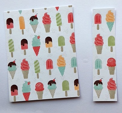 tasty treats card pattern