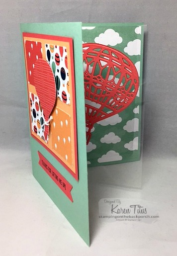 Lift Me Up Card with a Fun Fold