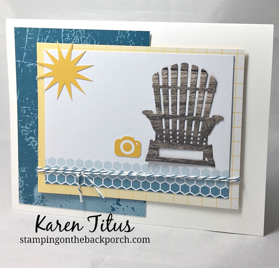 Quick & Easy Card using Color Theory Pack