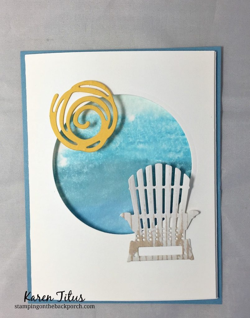 colorful seasons card kit