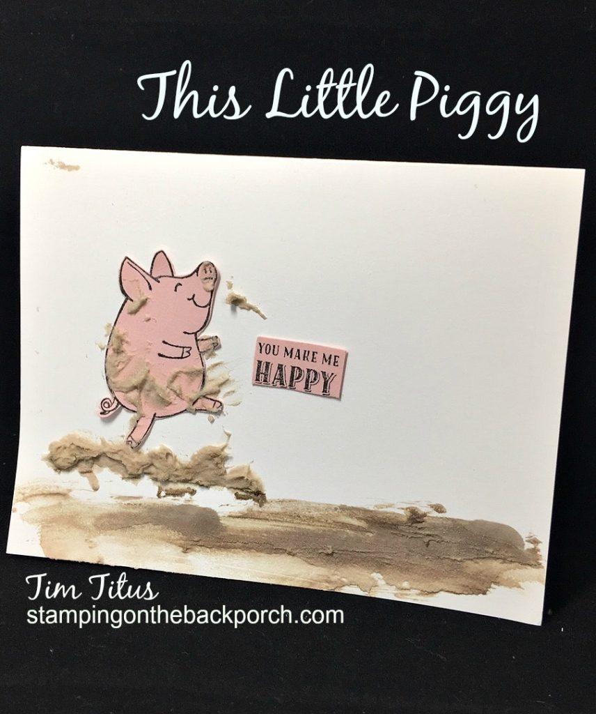 This Little Piggy in a mud bath