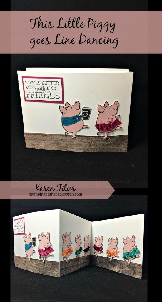 cute this little piggy card