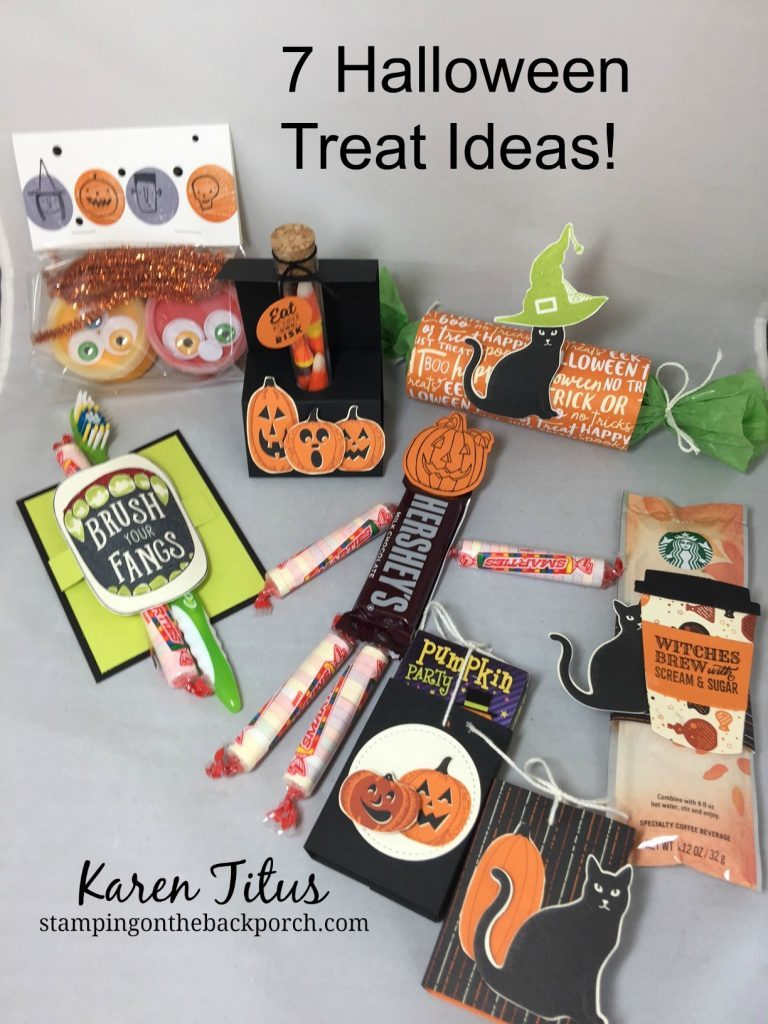 7 quick easy halloween treat ideas for Quick and easy halloween treats to make