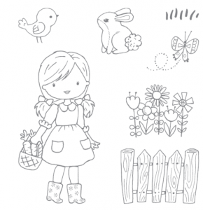 Garden Girl Stampin' Up!
