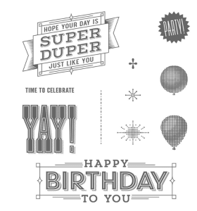 Super Duper Stampin' Up! stamp set