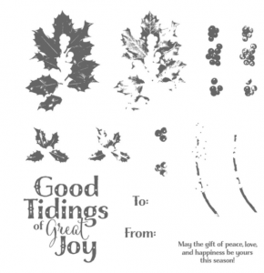 Glad Tidings stamp set