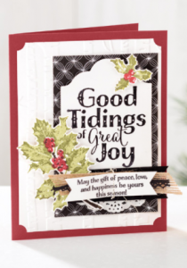 Good Tidings stamp set Stampin' Up!
