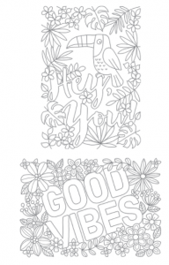 Good Vibes Stampin' Up! stamp set