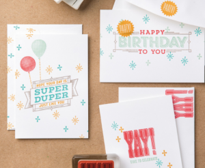 Super Duper birthday cards