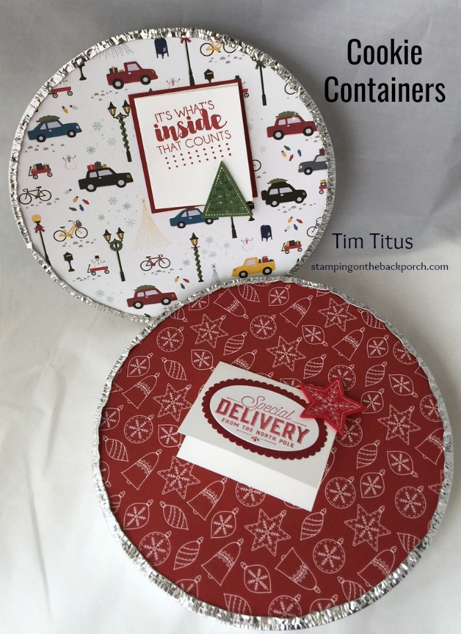 gift packaging for cookies & baked goods