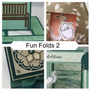 Fun Folds 2 Online Class with Karen