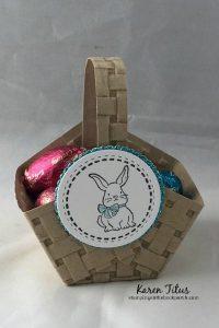 quick & easy diy Easter basket