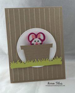 Easter Basket Card for Kids