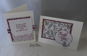 Sweet Soiree Cards #1 & 2