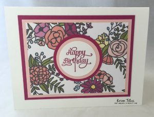 Sweet Soiree Quick Cards Stampin Up