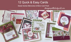 A Dozen Quick & Easy Cards