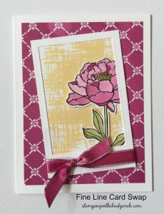 lovely flower card