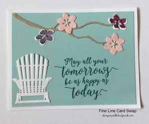 adirondack chair card