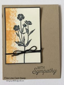 quick & easy sympathy card
