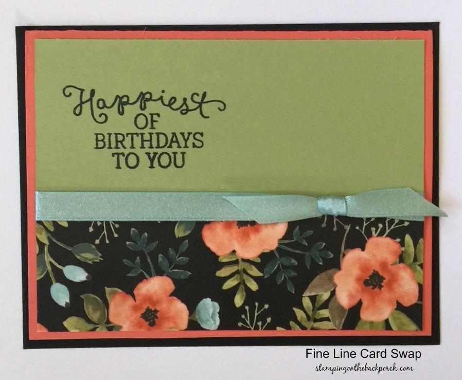 Card Making Ideas Retirement Part - 24: Quick U0026 Easy Birthday Card Idea