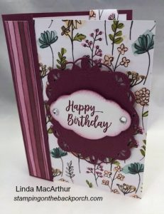 easy to make card with bookmark