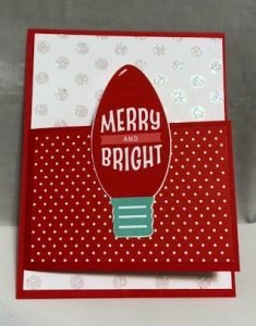Quick & Easy Fun Fold Christmas Card