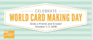 Free Card Class in honor of World Card Making Day