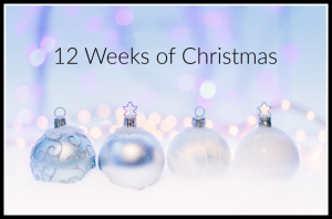12 Weeks of Christmas Tutorials