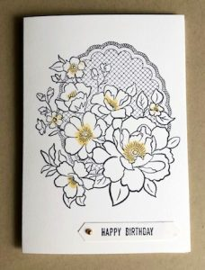 simply stamped lovely lattice card