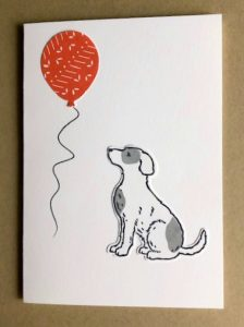 quick & easy card for dog lovers