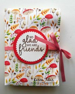Easy to Make Card Folder for a Gift