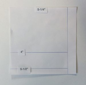 "card template for 6"" x 6"" paper"