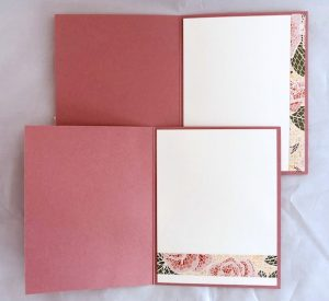 inside of handmade cards
