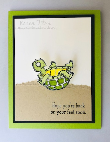 Get Well Wobble Card