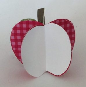 3d project with apple punch