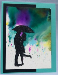 silhouette scenes stampin up