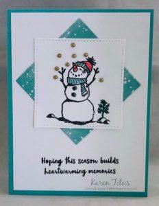 Snowman Season card