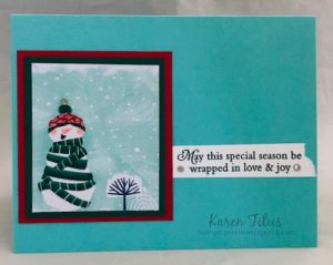 Quick & Easy Winter Card