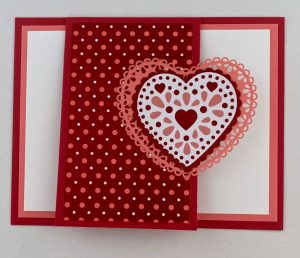 fun fold valentine card