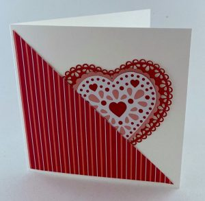 pull out heart card