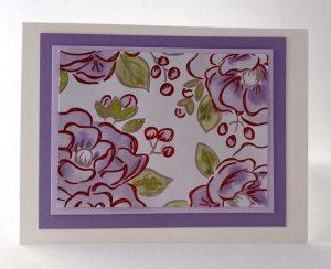 watercoloring designer series paper
