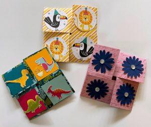 corner fun fold card