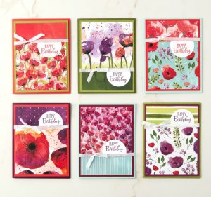 Poppies Flip It Cards