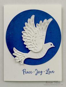 beautiful dove card