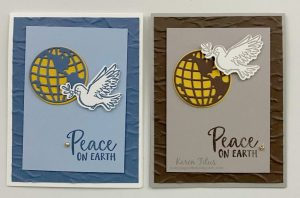 peace in the world dove card