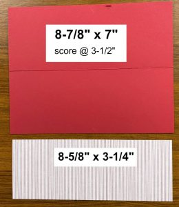 Slimline Card Measurements