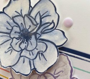 Cardmaking with Shimmer Paint